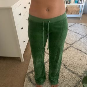 Juicy Couture Sweatpants in green